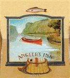 Angler's Inn Art Print