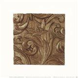 Copper Lily Frieze Art Print