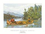 American Hunting Scenes Art Print