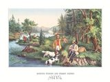 Hunting Fishing & Forest Scenes Art Print