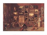 Gallery of the Louvre Art Print