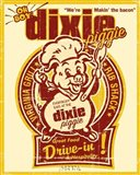Dixie Piggie Drive-In Art Print