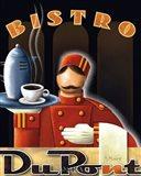 Bistro DuPont Art Print