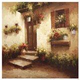 Rustic Doorway II Art Print