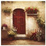 Rustic Doorway III Art Print