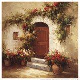 Rustic Doorway IV Art Print
