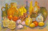 Mediterranean Kitchen II Art Print