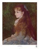 Mademoiselle Irene Art Print