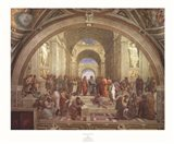 School of Athens Art Print