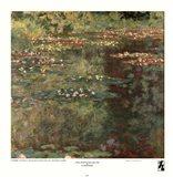 Pool with Waterlilies, 1904 Art Print