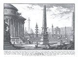 Campidoglio Antico Art Print