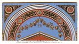 Detail/Loggia in the  Vatican II Art Print