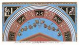 Detail/Loggia in the Vatican III Art Print