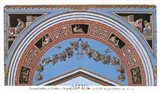 Detail/Loggia in the Vatican IV Art Print