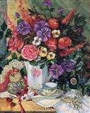 Victorian Bouquet II Art Print
