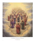 Gospel Choir of Angels Art Print