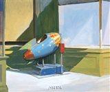 Rocket Ride Art Print