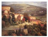 Italian Overlook Art Print