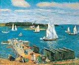 Mahone Bay, 1911 Art Print