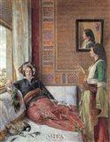 Hareem Life, Constantinople Art Print