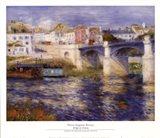 Bridge at Chatou Art Print