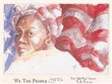 We the People (Woman) Art Print