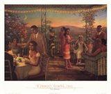 Summer's Evening, 1925 Art Print