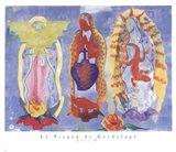 La Virgen De Guadalupe Art Print