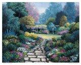 Garden Pathway Art Print