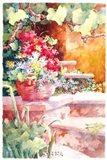 Steps of Provence Art Print