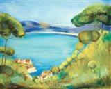 Colors of Saint Tropez Art Print