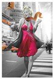 Marilyn in the City Art Print