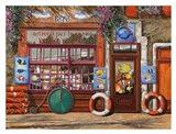 Lezione di Acquario Art Print