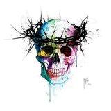 Jesus' Skull Art Print