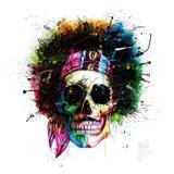 Woodstock Skull Art Print