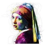 Vermeer Pop Art Print