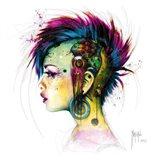 Cyber Punk Art Print