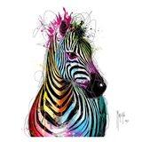 Zebra Pop Art Print