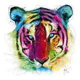 Tiger Pop Art Print