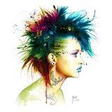 Fashion Punk Art Print