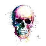 Angel's Skull Art Print