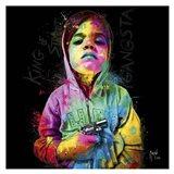 Gangsta Child, King of Street Art Print