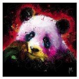 Panda Pop Art Print