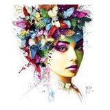 L'Effet Papillon Art Print