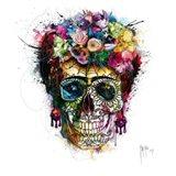 Frida Skull Art Print