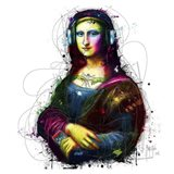 Mona Lisa's Song Art Print