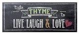 Take Thyme Art Print