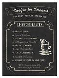 Recipe for Success Art Print