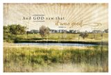 And God Saw that It Was Good Art Print