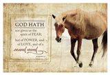 God Hath Art Print